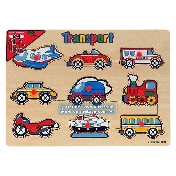 Transport Peg Puzzle photo