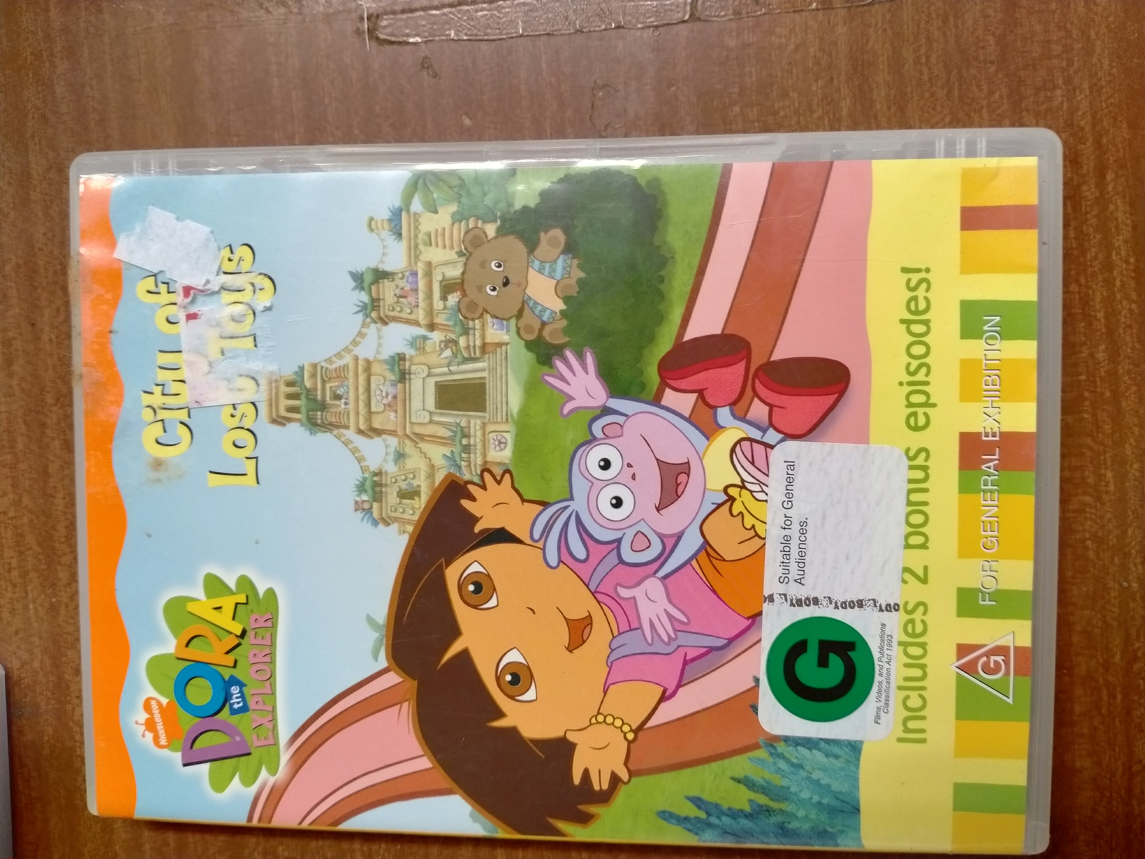 Dora the Explorer - City of Lost Toys DVD photo