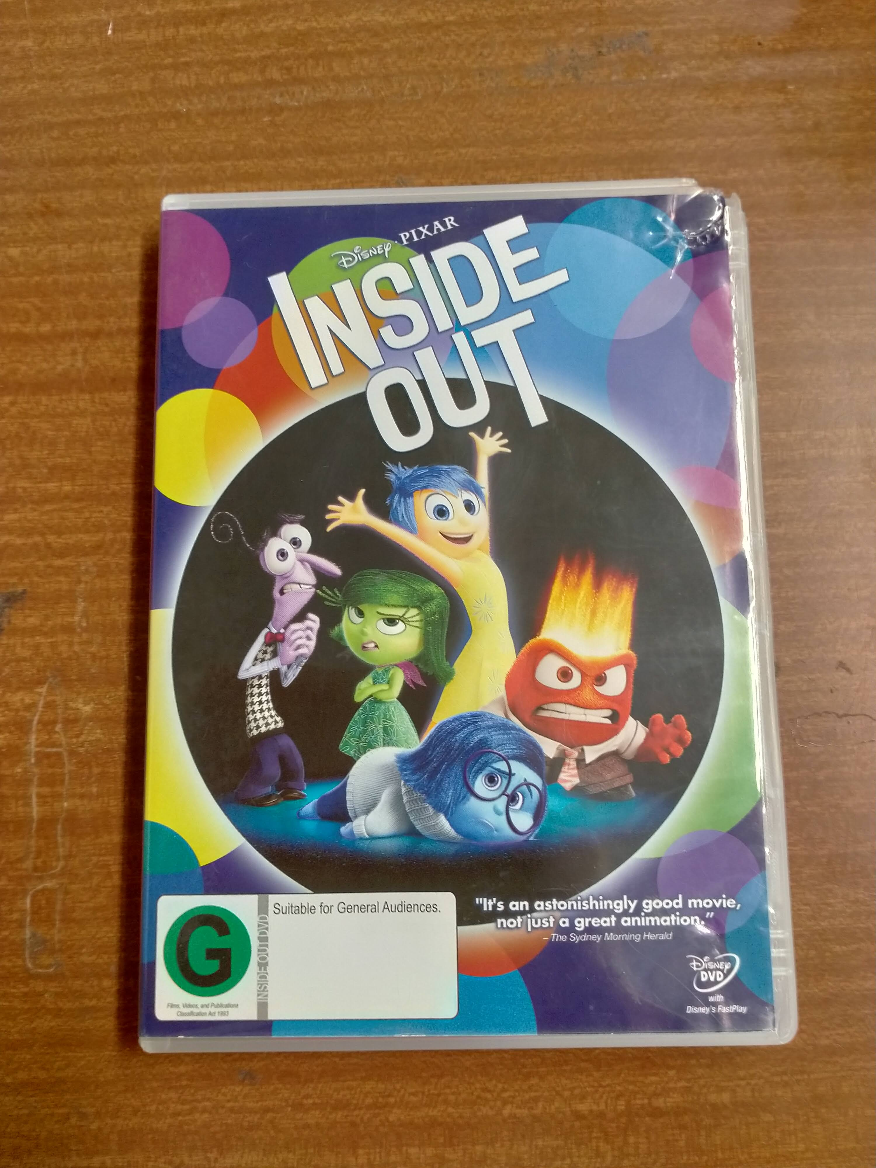 Inside Out DVD photo