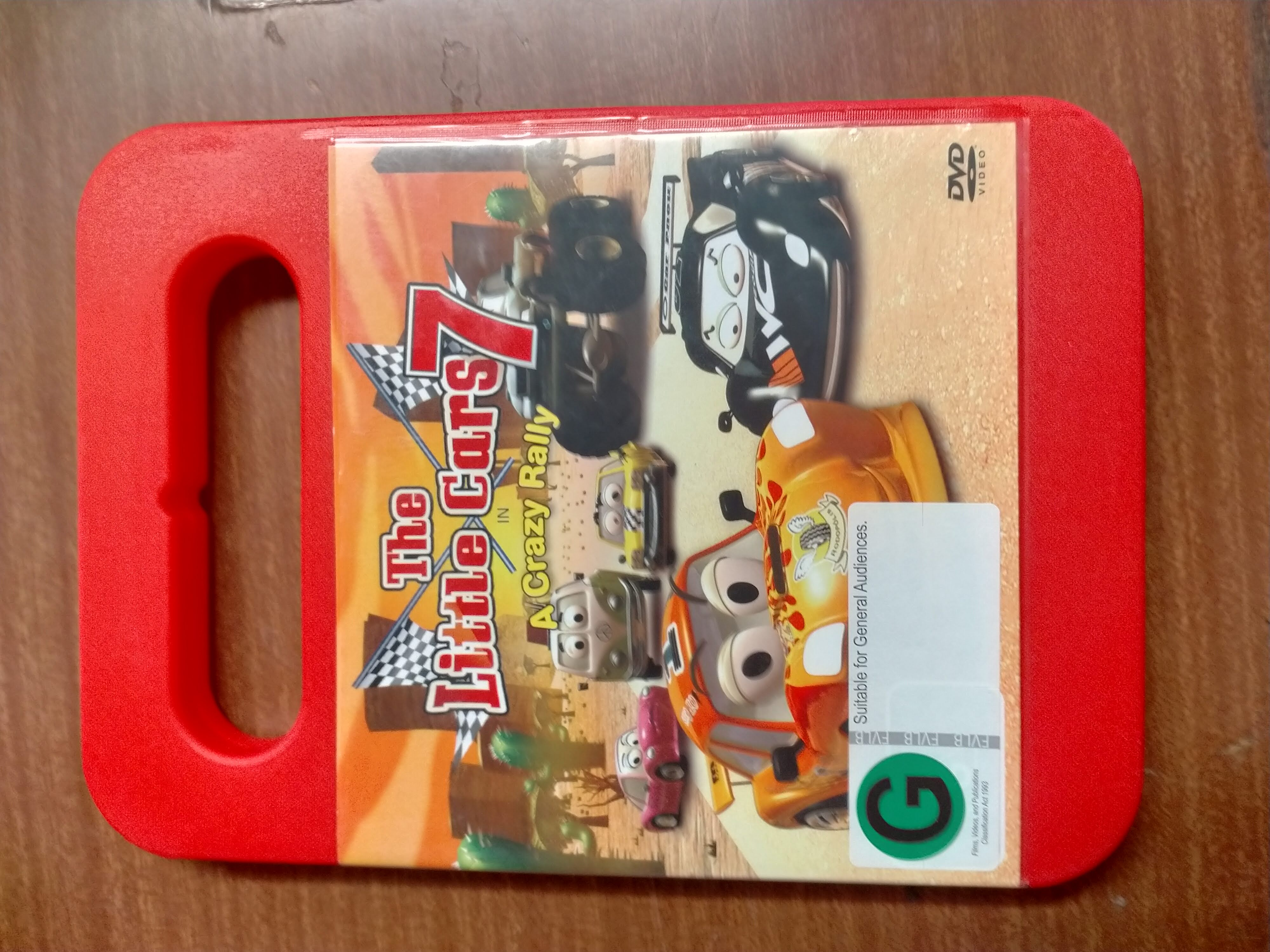 The Little Cars 7 - A Crazy Rally DVD